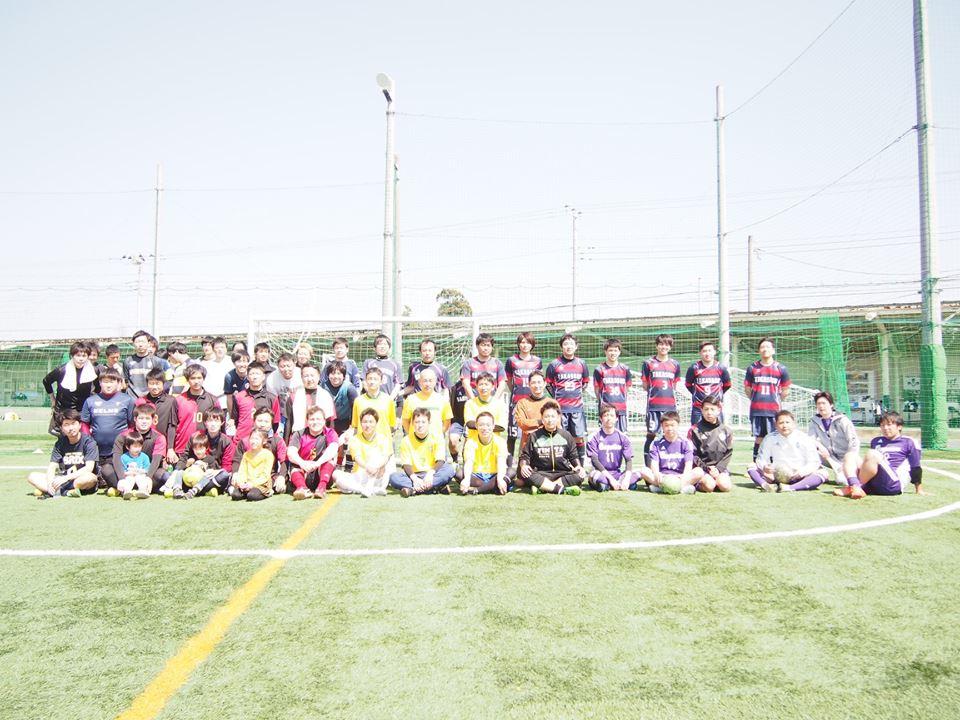 3/25(日)大きく、豪華に、3月最後に!!初級者&O35開催!!