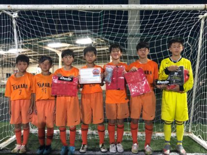 8/2(日)U-12地域フットサルチャンピオンズカップ茨城県予選